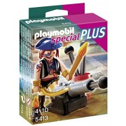 Playmobil Pirate with Cannon, Multi Color