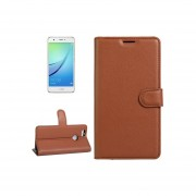 For Huawei Nova Litchi Texture Horizontal Flip Leather Case With Holder And Card Slots And Wallet(brown)