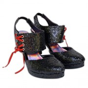 Celibato 33010358.008 - Signora - Glitter sandali tacco alto con cinturino alla caviglia - Gr. 37