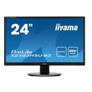 """MONITOR LED IIYAMA 24"""" X2483HSU-B2 FULLHD DVI/HDMI/D-SUB/USB SPK. BLACK"""