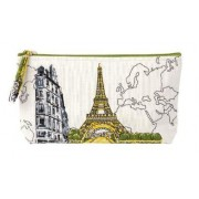 Paris Eiffel Tower Handmade Pouch by Galison