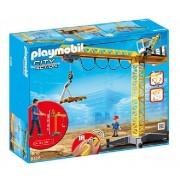 City action - La vie au chantier - Grande grue de chantier radio-commandée - 5466