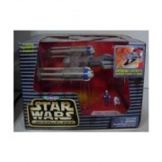 Star Wars Action Fleet Micro Machines Y-Wing Starfighter Blue