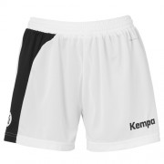 Kempa Damen-Short PEAK - weiß/schwarz   M