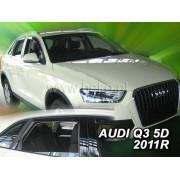 Deflektory komplet 4 ks - Audi Q3, 2011-