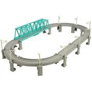 Tomica PraRail Viaduct Rail & Big Iron Bridge Set [Toy] (japan import)