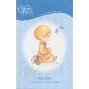 Precious Moments Holy Bible - Blue Edition by Thomas Nelson