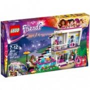 LEGO® Friends Casa vedetei pop Livi 41135