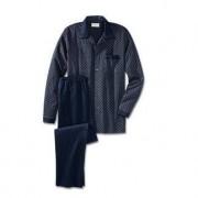 NOVILA Gentleman-Pyjama, Blau, 58 - Blau