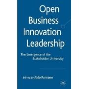 Open Business Innovation Leadership by Professor Aldo Romano