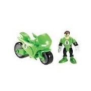 Imaginext Exclusive DC Super Friends Gotham City Collection Green Lantern Cycle