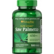 Saw Palmetto 450 mg / 100 kaps PURITAN'S PRIDE