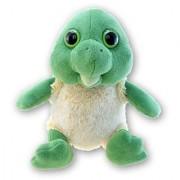 Puzzled Super Soft Small Sitting Sea Turtle Plush 7.5