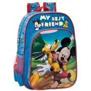 Ghiozdan 38 cm Mickey si Pluto Friends