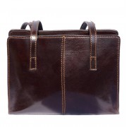 Florence Leather Market Borsa business a tracolla con doppio manico (6510)