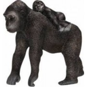 Figurina Schleich Gorilla Female With Baby