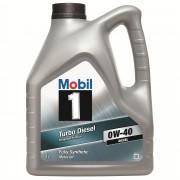Ulei motor MOBIL 1 Turbo Diesel 0W-40 4L