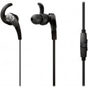 Casti Audio-Technica ATH-CKX7iSBK, jack 3.5mm, Microfon (Negru)