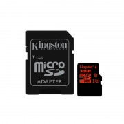 Card Kingston microSDHC 32GB Clasa 10 UHS-I U3 cu adaptor