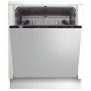 Masina de spalat vase Beko DIN26220, Complet Incorporabila, Clasa A++, 60 cm, 12 seturi, 6 programe, Control Electronic, Afisaj LCD, Alb