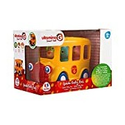 Globo Toys Globo - 5156 Vitamina_G School Bus Vehicle Toy with Lights and Sounds