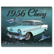 """Sign - 1956 Chevy Belair - One Cool Ride"""