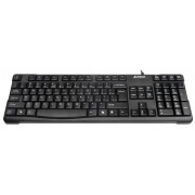 Tastatura A4Tech KR-750, cu fir, US layout, neagra, Natural_A Shape Key, Laser inscribed keys, USB