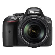 Nikon D5300 24.1MP Digital SLR Camera (Black) with 18-140mm VR Kit Lens + Card and Camera Bag + Free HP Deskjet 1112 Printer