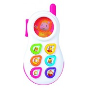 Smoby Cotoons Talking Phone, Pink
