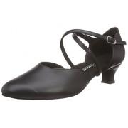 Diamant 148-112-034 - Zapatillas de Baila Moderno y Jazz Mujer, Negro (Negro)