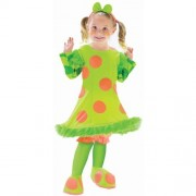 Lolli The Clown Toddler Costume - 3T-4T - Kids Costumes