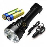 Lanterna LED 3W cu Acumulatori 18650 ZYT43