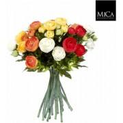 Mica Decorations - Renoncule Boeket - Oranje