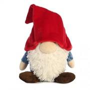 Aurora World Pointy Hat Gnome Plush Toy (Large, Red/White/Blue/Brown) by Aurora