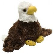 Wild Republic Hug Ems Bald Eagle Plush Toy