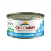 Almo Nature Legend 100% Natural Mackerel Adult Grain-Free Canned Cat Food, 2.47-oz, case of 24