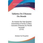 Tablettes de L'Homme Du Monde by Abraham Van Wicquefort