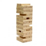 Tumbling Wood Block Tower 48 Wooden Blocks Stack Them And Have Fun
