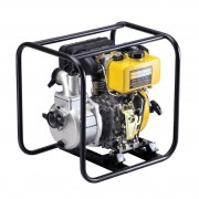 "Motopompa Kipor KDP40E, 4"", diesel, apa curata, pornire electrica"
