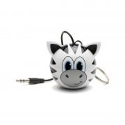 Boxa portabila KitSound Mini Buddy Zebra 2W white