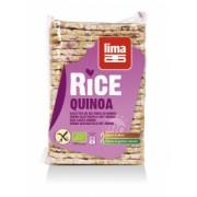 Rondele de orez expandat cu quinoa Bio 130gr