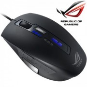 Mouse Asus Republic Of Gamers GX850, Laser, cu fir, rubber finish negru