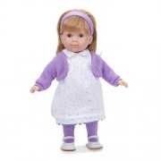 "JC Toys Carla Blonde 14"" Doll, Purple by JC Toys Group, Inc."