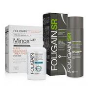 FOLIGAIN CAPLETS & FOLIGAIN.P5 5% MINOXIDIL & FOLIGAIN.SR HAIR REGROWTH VALUE PACK