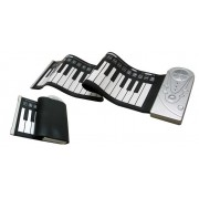 Roll Up (49) - Clavier Souple Et Flexible - 49 Touches - 4 Octaves - Sans Fil