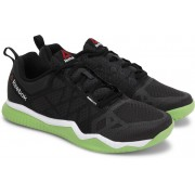 Reebok REEBOK ZPRINT TRAIN Men Training & Gym Shoes(Black, Green)