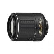 Nikon JAA823DA Objetivo para (distancia focal 55-200mm, apertura f/4, zoom óptico 3.6x,estabilizador óptico) negro