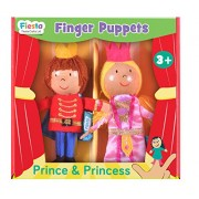 Fiesta Crafts Prince and Princess Finger Puppet Set (2-Piece)