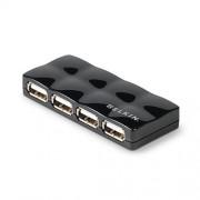 BELKIN USB HUB 2.0 4-port Travel Quilted, aktívny