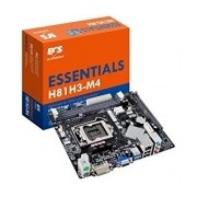 Tarjeta Madre ECS micro ATX H81H3-M4, S-1150, Intel H81, HDMI, USB 2.0/3.0, 16GB DDR3, para Intel